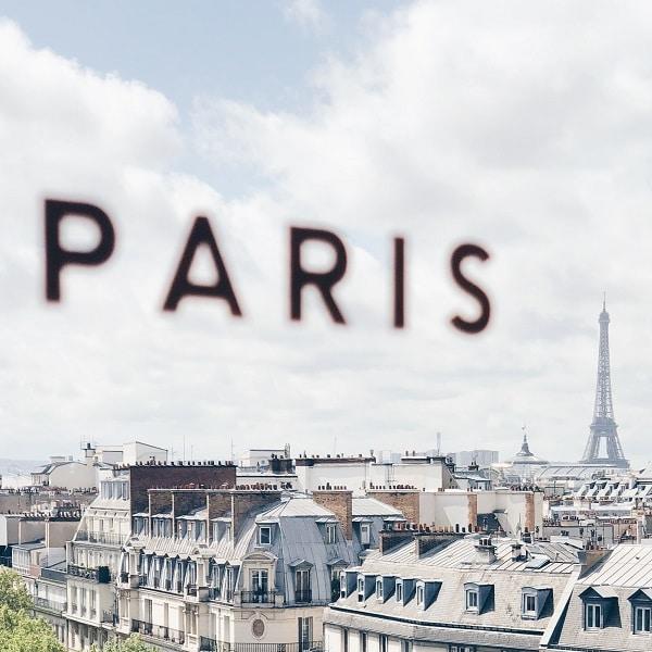 Rooftop vue Tour Eiffel